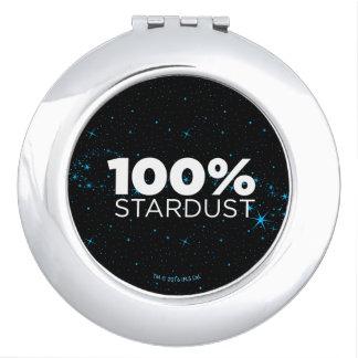 100% Stardust Compact Mirror
