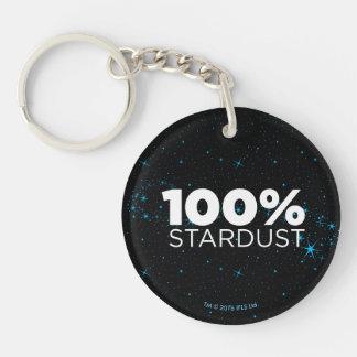 100% Stardust Keychain