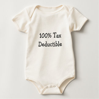 100% Tax Deductible Baby Baby Bodysuit