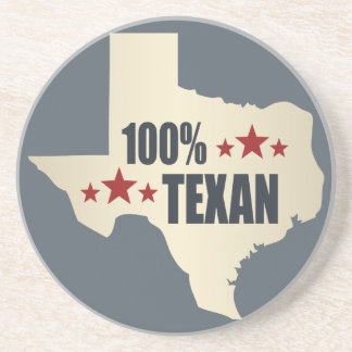 100% Texan Beverage Coaster