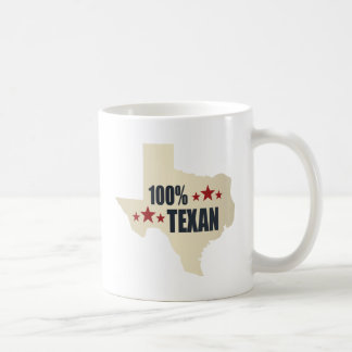 100% Texan Coffee Mug
