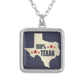 100% Texan Silver Plated Necklace