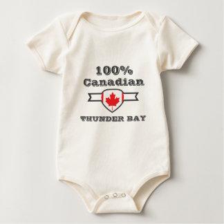 100% Thunder Bay Baby Bodysuit