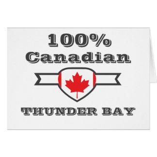 100% Thunder Bay Card