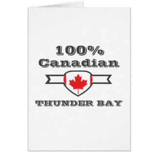 100% Thunder Bay Card
