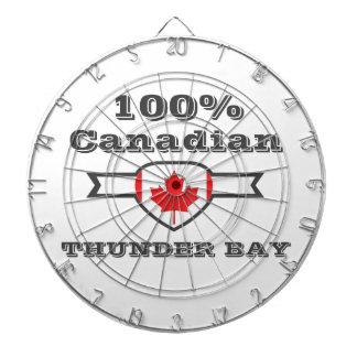 100% Thunder Bay Dartboard