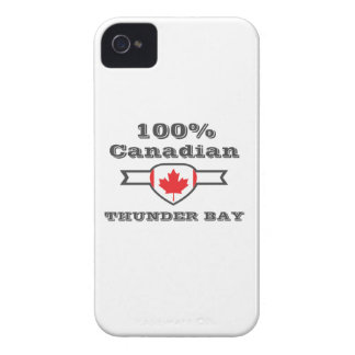 100% Thunder Bay iPhone 4 Case-Mate Case