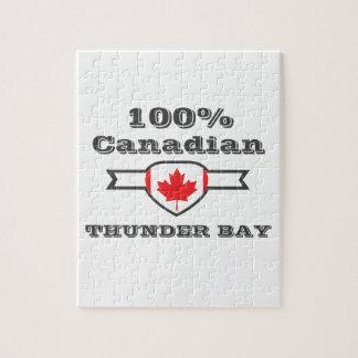 100% Thunder Bay Jigsaw Puzzle