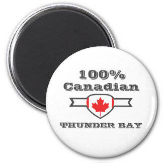 100% Thunder Bay Magnet