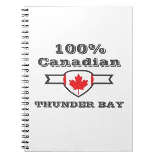 100% Thunder Bay Notebooks