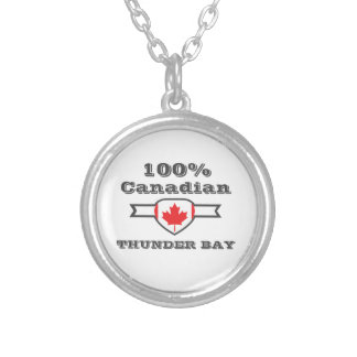 100% Thunder Bay Silver Plated Necklace