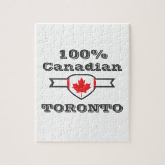 100% Toronto Jigsaw Puzzle