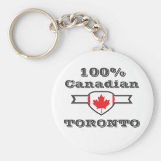 100% Toronto Keychain