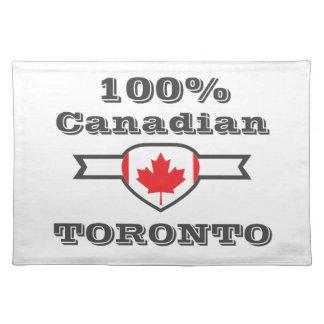 100% Toronto Placemat