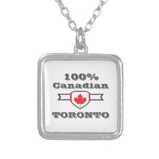 100% Toronto Silver Plated Necklace