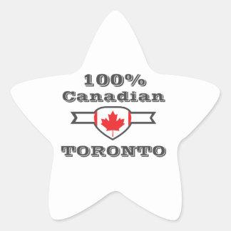 100% Toronto Star Sticker