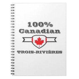 100% Trois-Rivières Notebook