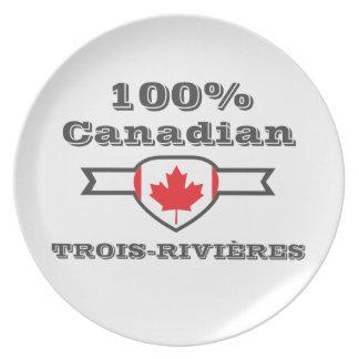 100% Trois-Rivières Plate