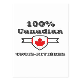 100% Trois-Rivières Postcard