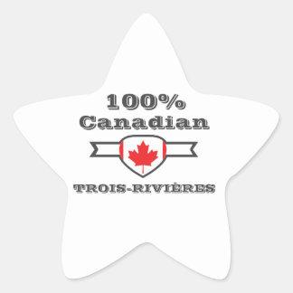 100% Trois-Rivières Star Sticker