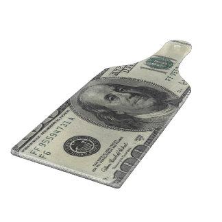 $100 United States Bill Cutting Board