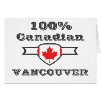 100% Vancouver Card