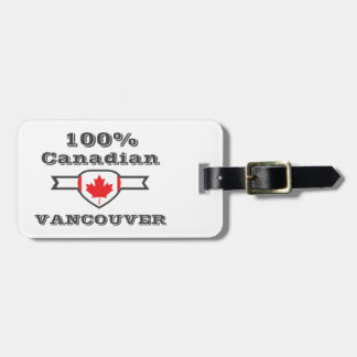 100% Vancouver Luggage Tag