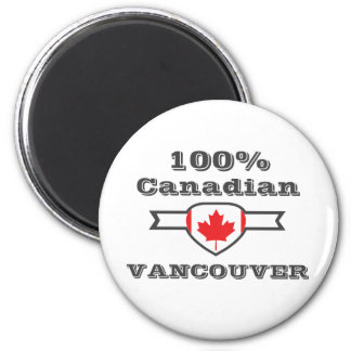 100% Vancouver Magnet