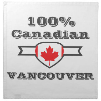 100% Vancouver Napkin
