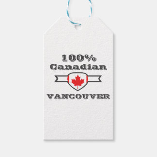 100% Vancouver Pack Of Gift Tags