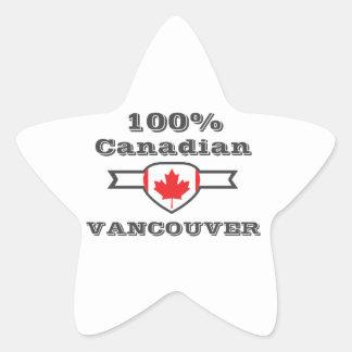 100% Vancouver Star Sticker