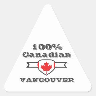 100% Vancouver Triangle Sticker