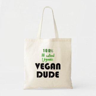 100% VEGAN DUDE TOTE BAG