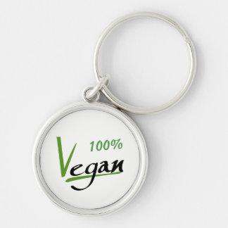 100% Vegan Keychain