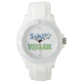 100% VEGAN -. - Wrist-watch -. - Wristwatch