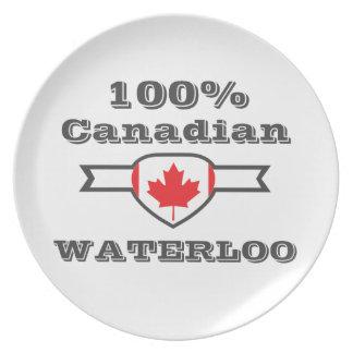 100% Waterloo Plate