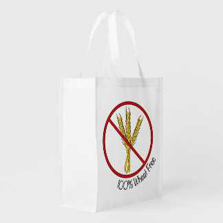 100% Wheat Free Reusable Grocery Bag