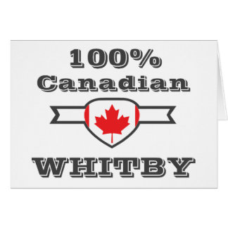 100% Whitby Card