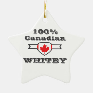 100% Whitby Ceramic Ornament