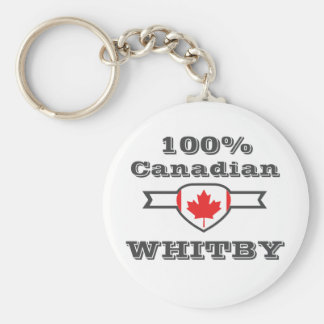 100% Whitby Keychain