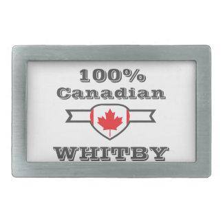 100% Whitby Rectangular Belt Buckles