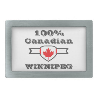 100% Winnipeg Belt Buckles