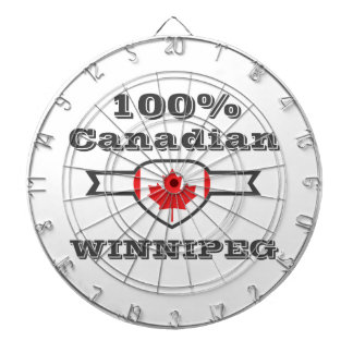 100% Winnipeg Dartboard