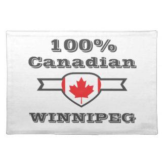 100% Winnipeg Placemat