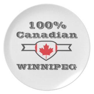 100% Winnipeg Plate