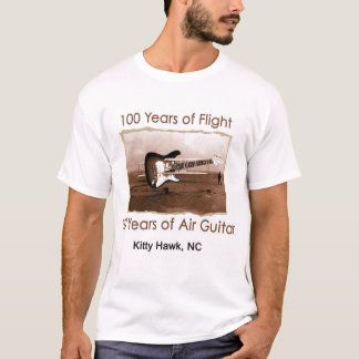 100 Years of Flight/30 Years of Air Guitar T-Shirt