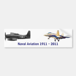 100 years of Naval Aviation Bumper Sticker