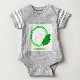 100Green Icon_rasterized Baby Bodysuit