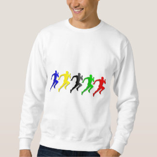 100m 200m 400m 800m Runners Running Run Sweatshirt