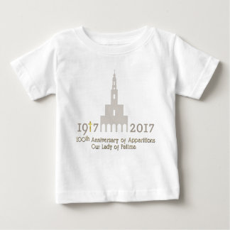100th Anniversary of Apparitions - Fatima Baby T-Shirt